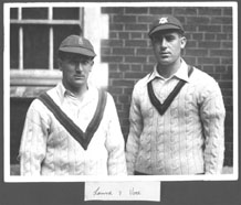 Harold and Bill Voce in 1932
