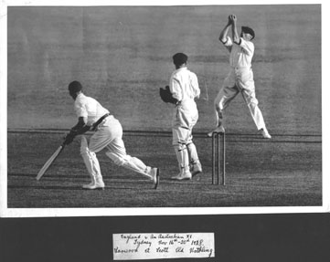 Harold caught at 2nd Slip